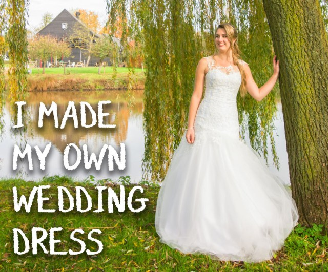 Crochet Wedding Dress Pattern Free I Made My Own Wedding Dress 16 Steps With Pictures