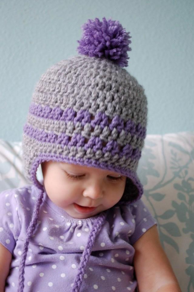 Earflap Hat Crochet Pattern Alli Crafts Free Pattern Earflap Hat 9 12 Months