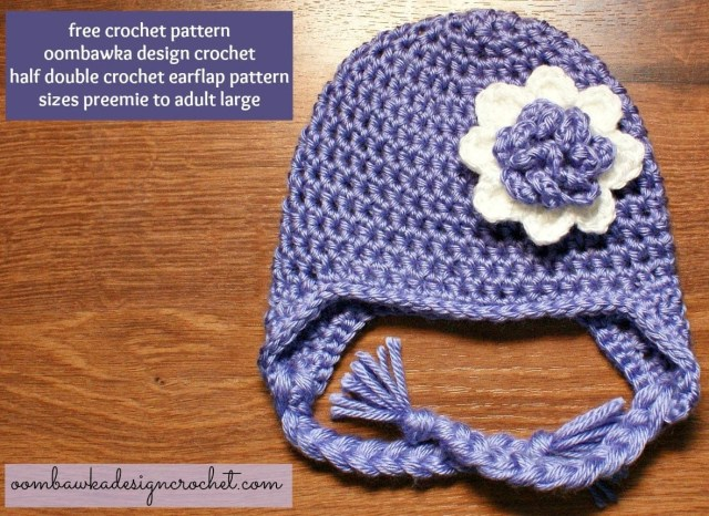 Earflap Hat Crochet Pattern Keep Your Ears Covered This Winter With This Simple Earflap Hat
