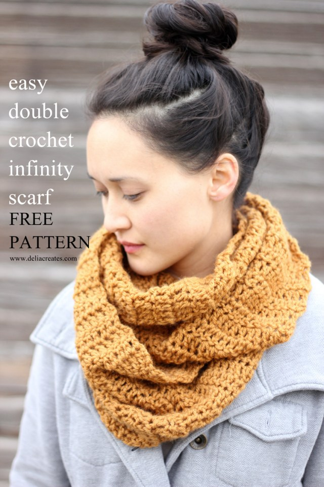 Easy Cowl Neck Scarf Crochet Pattern 30 Fabulous And Free Crochet Scarf Patterns
