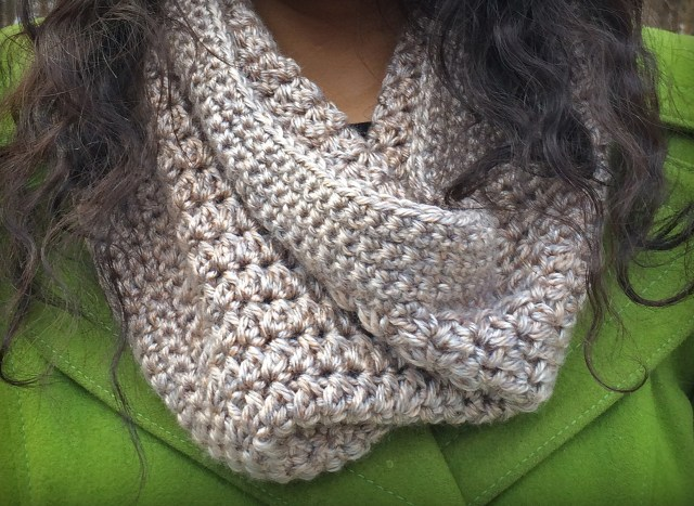 Easy Cowl Neck Scarf Crochet Pattern Pattern Of The Day Eggnog Crochet Cowl Stitch And Unwind