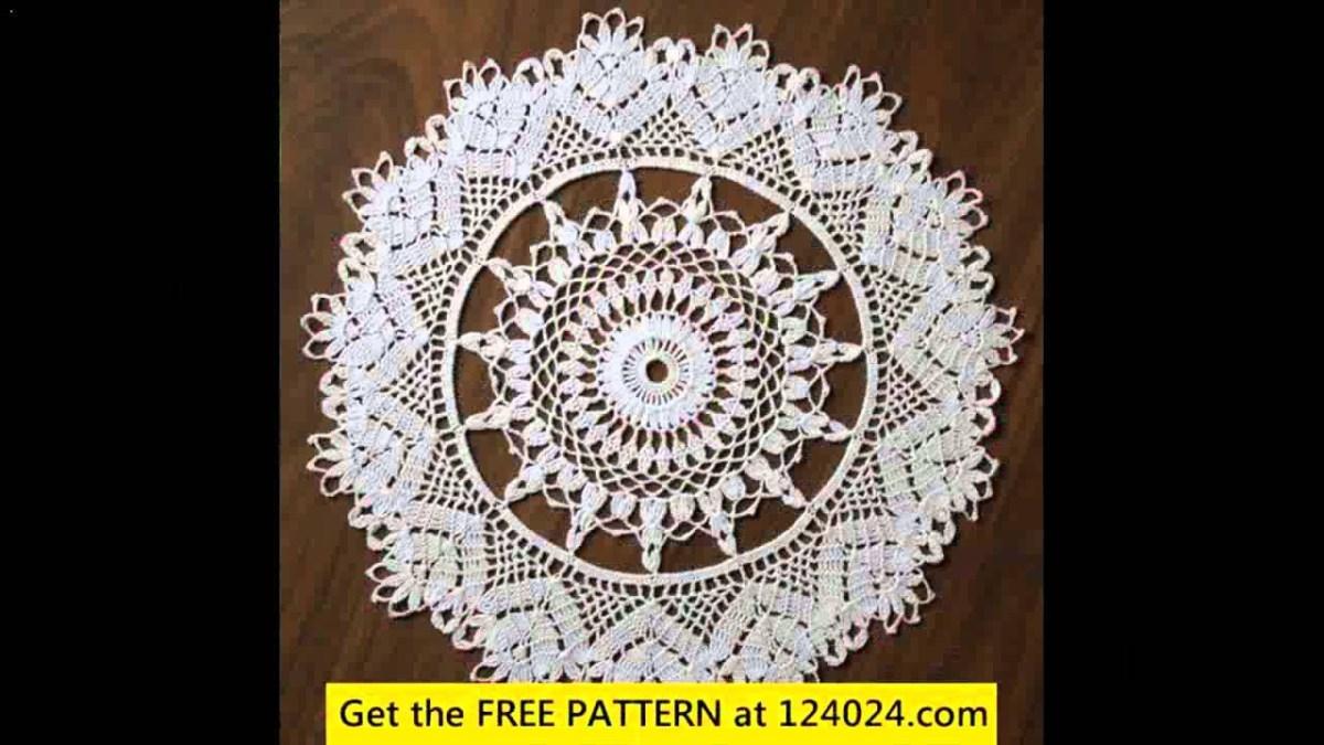 Easy Crochet Doily Patterns For Beginners Easy Crochet Doily Free Patterns Youtube