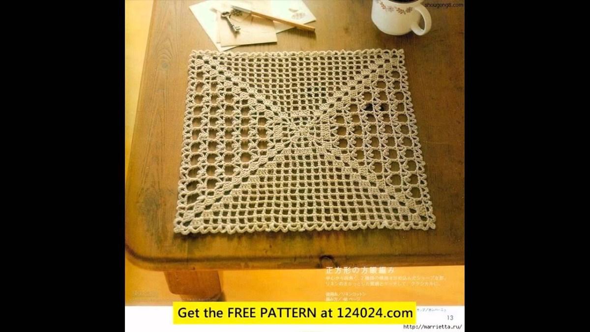 Easy Crochet Doily Patterns For Beginners Easy Crochet Doily Patterns For Beginners Youtube