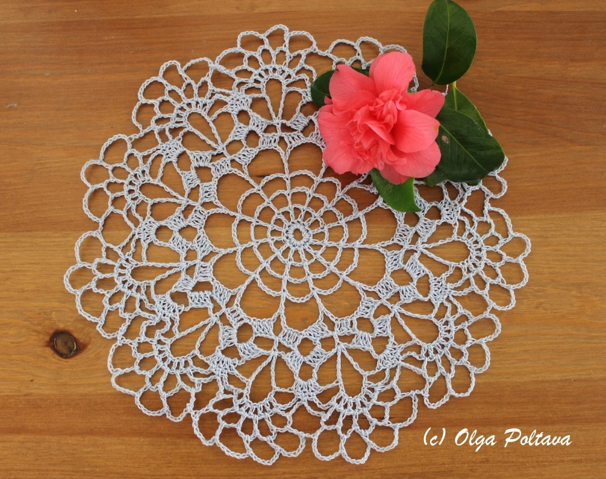 Easy Crochet Doily Patterns For Beginners Lacy Crochet Small Doily Free Vintage Pattern