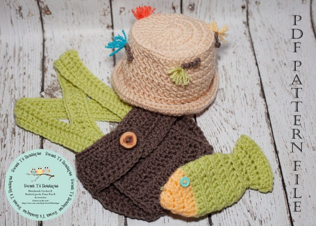 Fish Hat Crochet Pattern Crochet Pattern 110 Crochet Fly Fishing Hat Diaper Cover Etsy