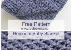 Free Baby Afghan Crochet Patterns Free Heirloom Ba Blanket Crochet Pattern Crochet Pinterest