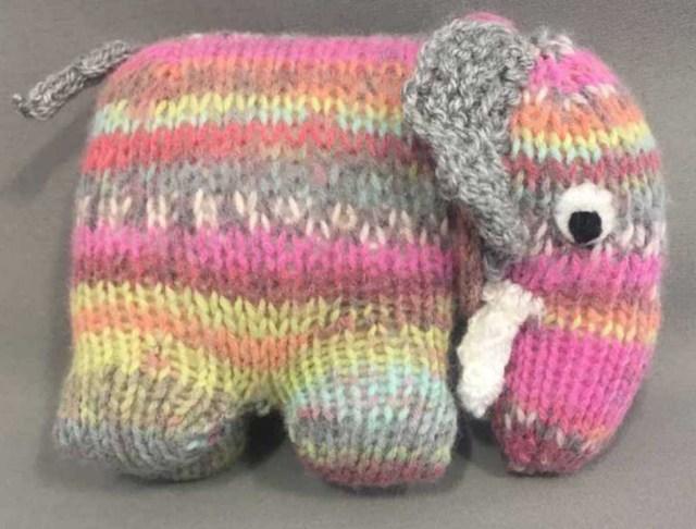 Free Crochet Pattern Elephant Free Knitting Pattern For An Elephant Knitting Bee