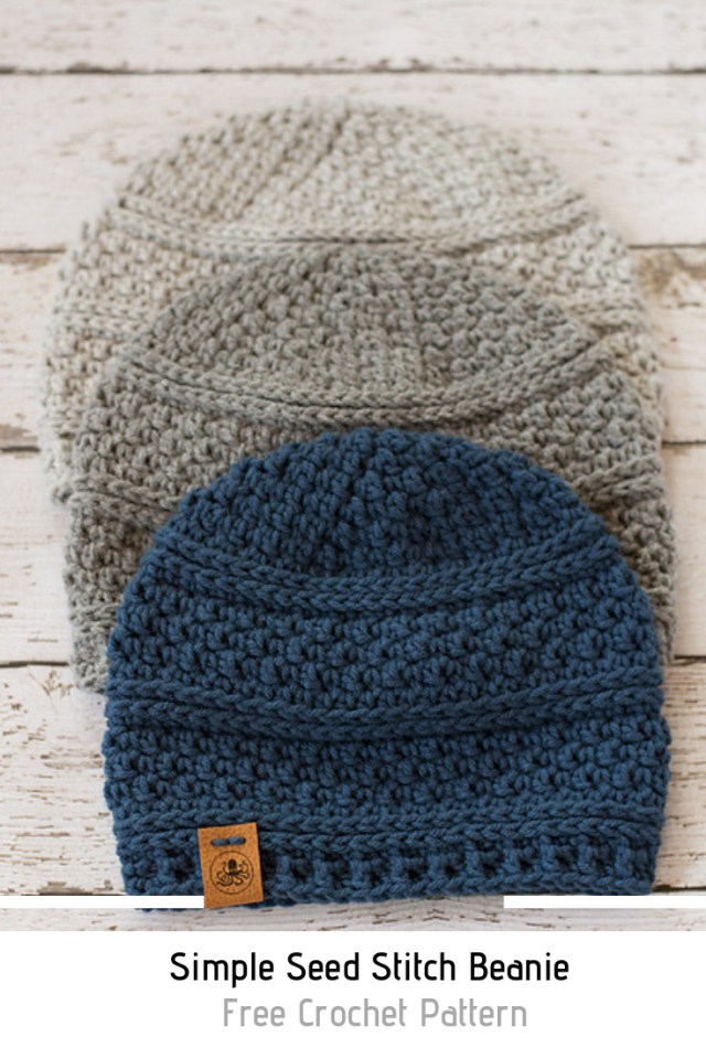 Free Crochet Patterns For Men Quick And Easy Crochet Mens Hat Free Pattern Crochet Pinterest