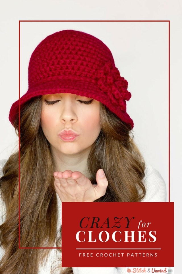 Free Hat Crochet Patterns Crazy For Cloches 12 Easy Crochet Patterns Stitch And Unwind