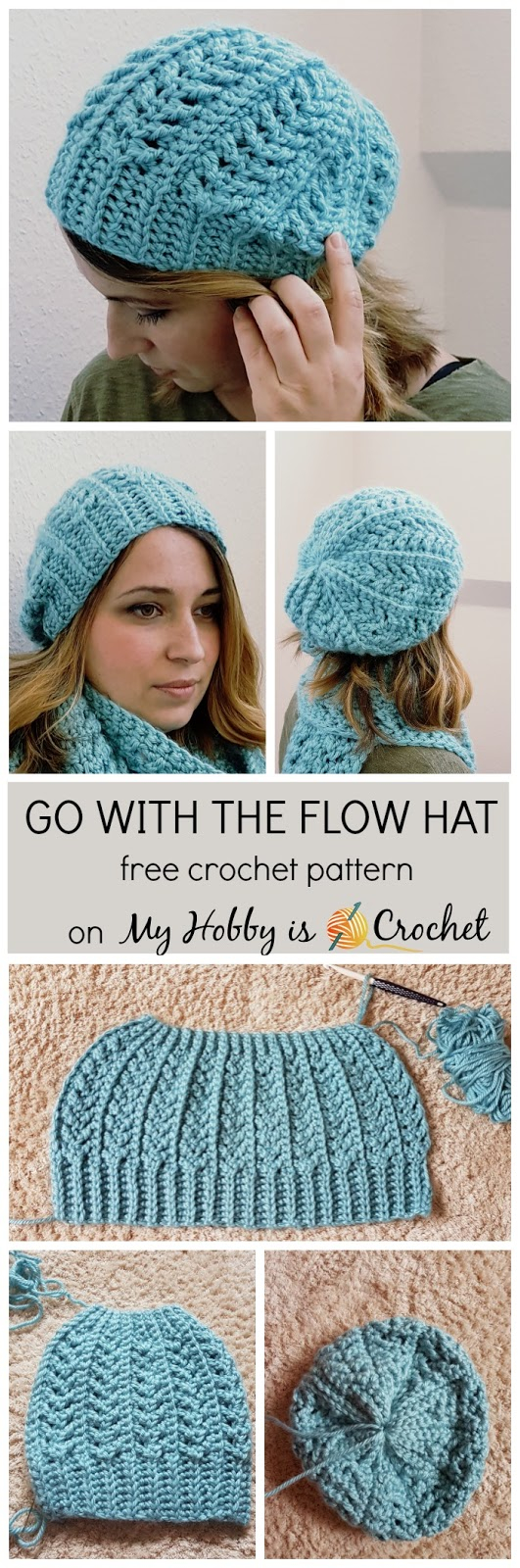 Free Hat Crochet Patterns My Hob Is Crochet Go With The Flow Hat Free Crochet Pattern