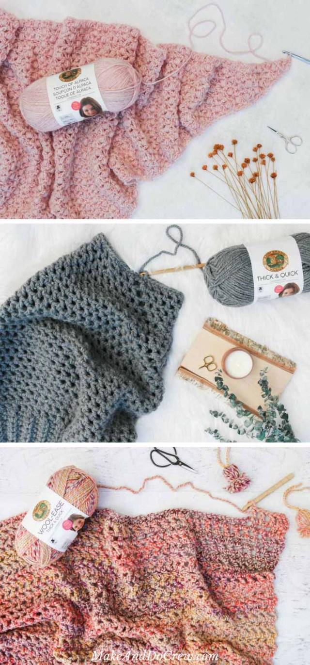Lionbrand Com Free Crochet Patterns Lion Brand Yarn Free Patterns Make Do Crew