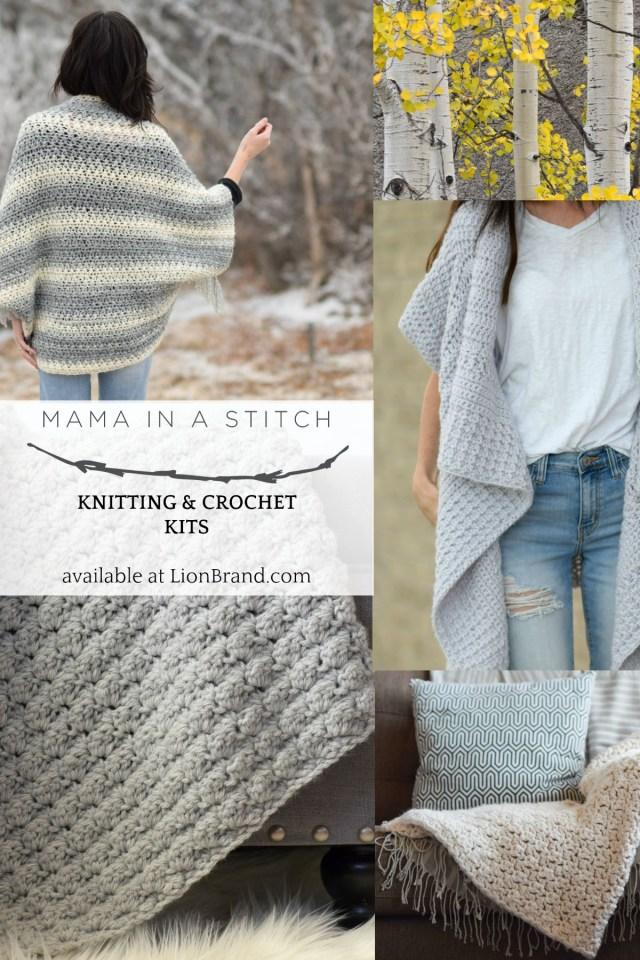 Lionbrand Com Free Crochet Patterns Lion Brand Yarn Kits Pretty Knitting Patterns Pinterest