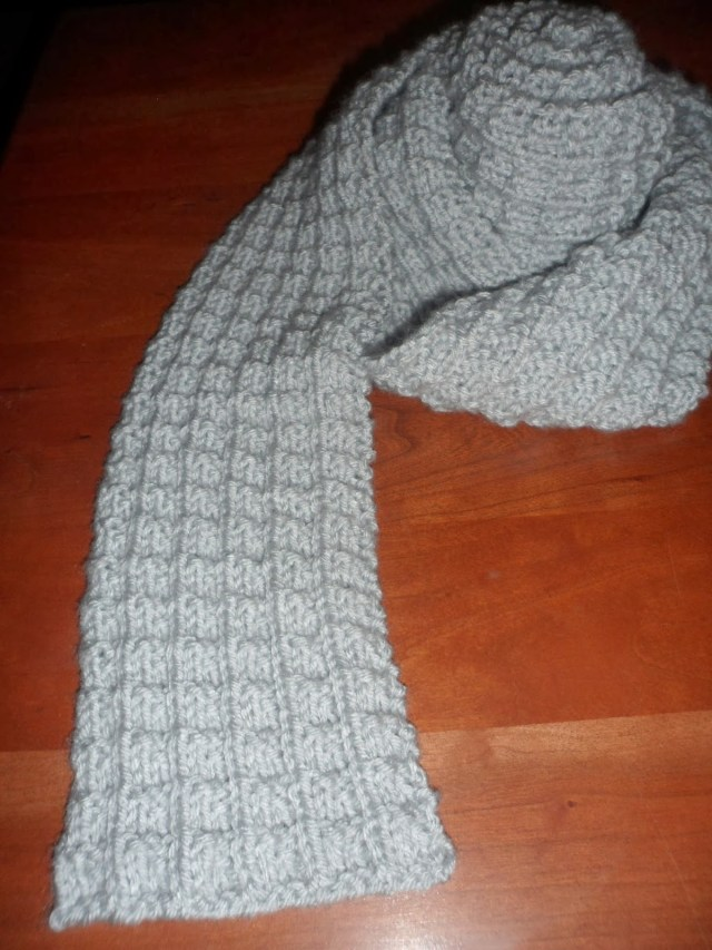 Male Scarf Crochet Pattern A Stitch At A Time For Amy B Stitched Ribbed Knit Scarf Pattern