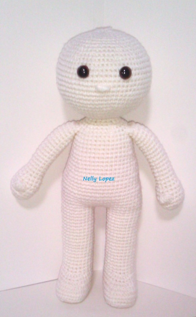 Simple Crochet Doll Pattern A Blog About Patterns For Making Crocheted Doll Doll Clothing And