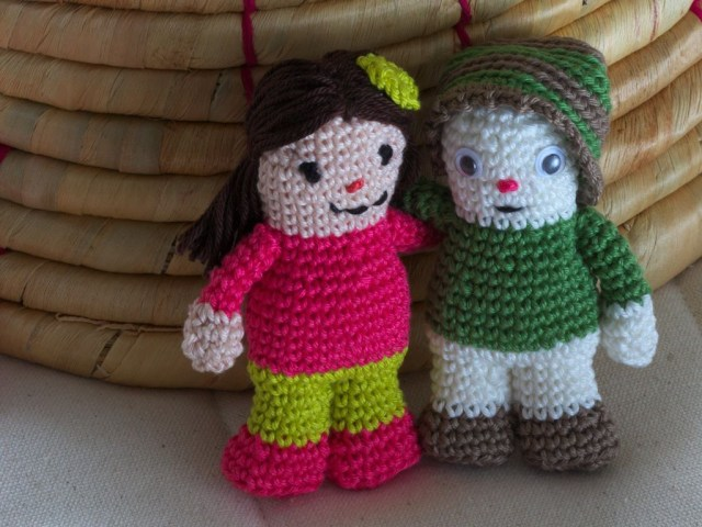 Simple Crochet Doll Pattern A Small Simple Crochet Doll A Free Pattern Crochet And Craft