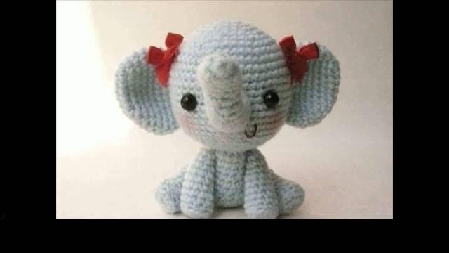 Simple Crochet Doll Pattern Easy Crochet Elephant Projects Youtube