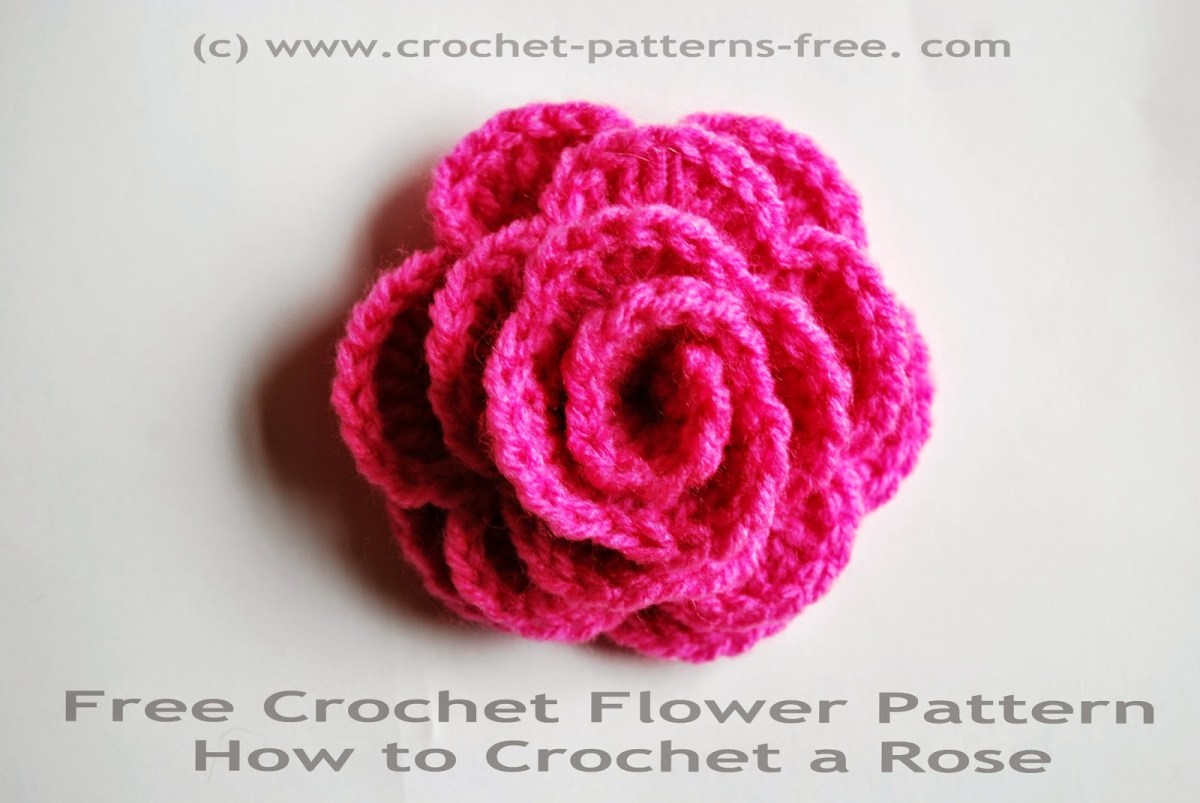 Simple Crochet Rose Pattern Free Crochet Patterns And Designs Lisaauch Free Crochet Flower