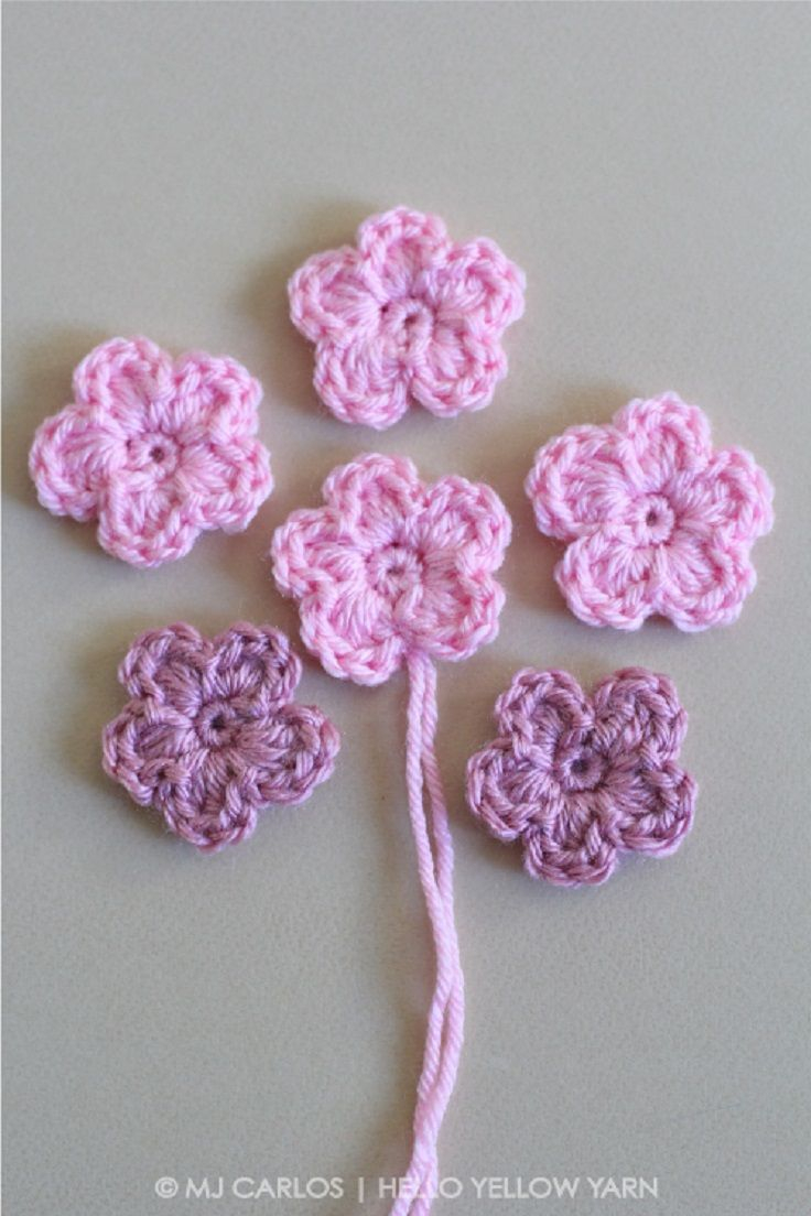 Simple Crochet Rose Pattern Simple Crochet Flower Pattern And Tutorial 11 Easy And Simple Free
