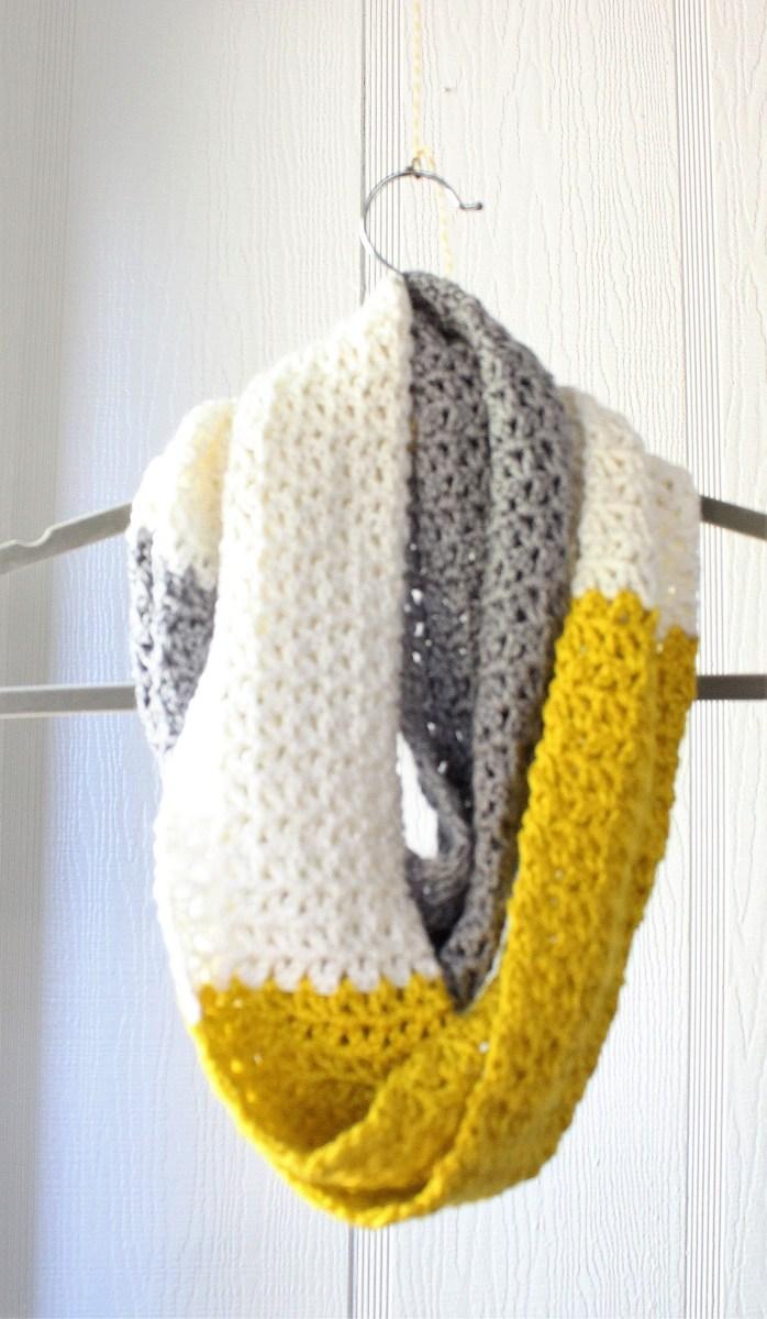Simple Crochet Scarf Patterns Crochet Scarf Simple Free V Stitch Pattern Chunky Crochet