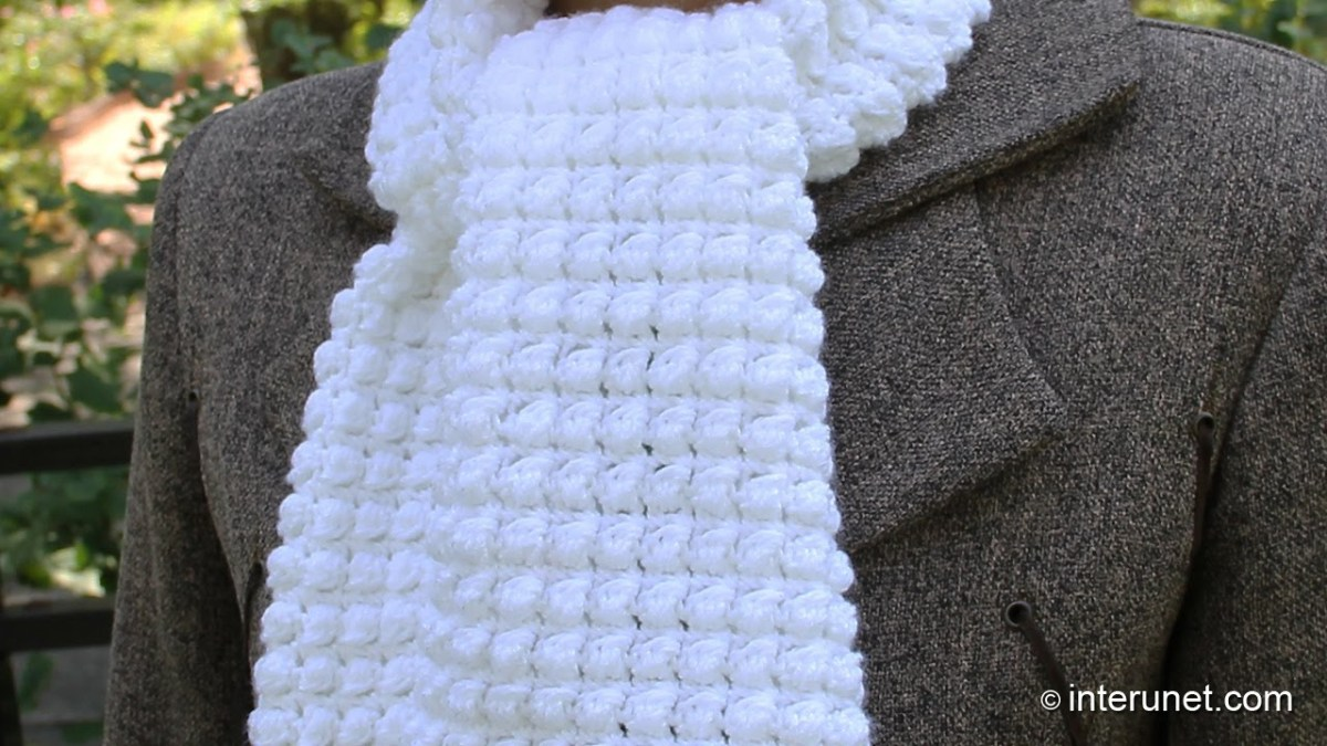 Simple Crochet Scarf Patterns How To Crochet A Scarf Pattern For Beginners Youtube