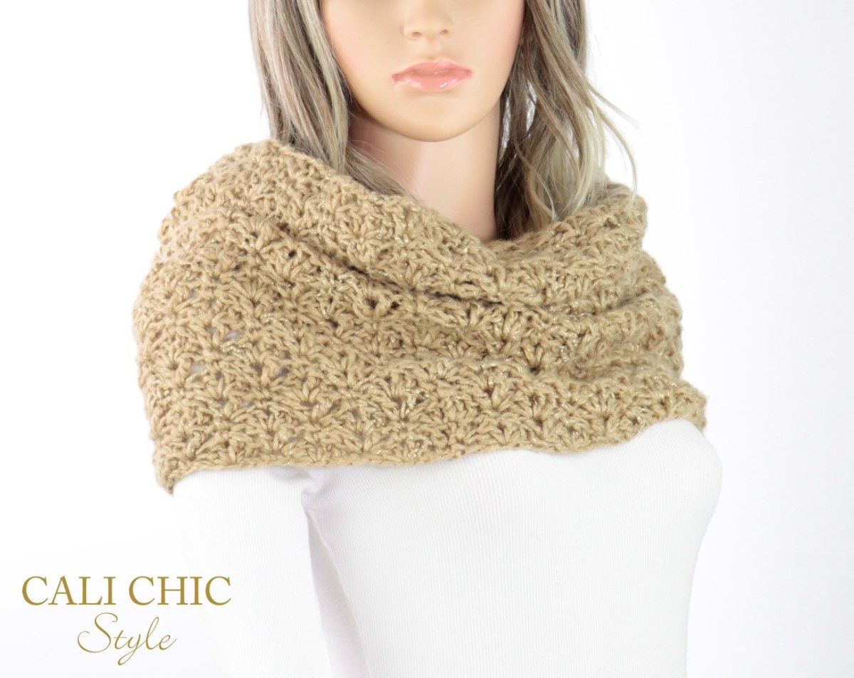 Snood Scarf Crochet Pattern Crochet Snood Scarf Pattern Elaine Infinity Scarf Hood Etsy