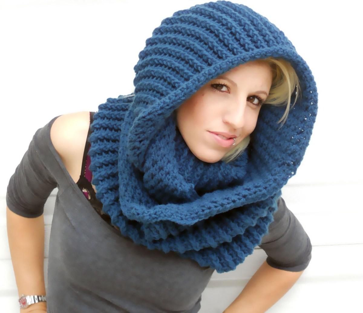 Snood Scarf Crochet Pattern Serenity Blue Cowl Winter Cowl Crochet Cowl Infinity Scarf Etsy