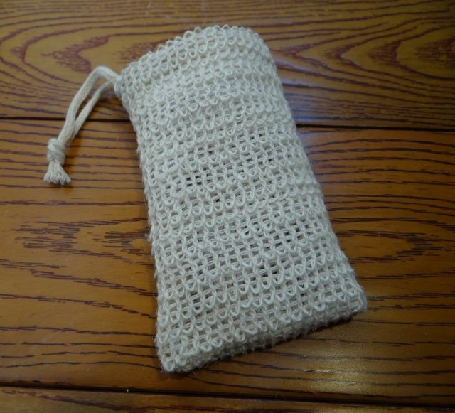 Soap Bag Crochet Pattern 3pcs Linen Soap Bag Shower Soap Saver Pouch Bathing Soap Scrub Mesh