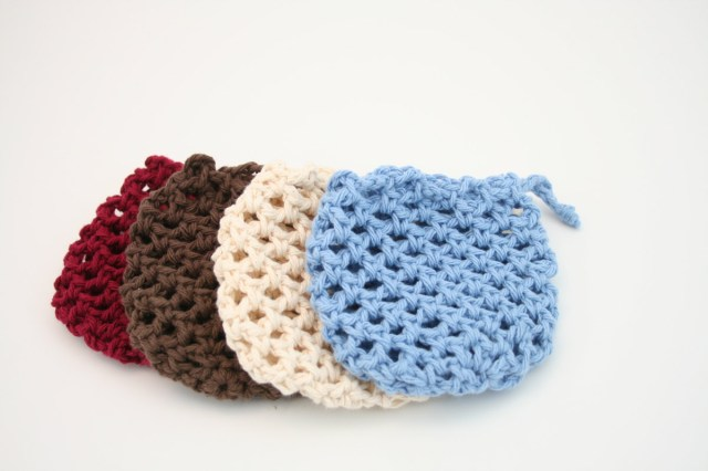 Soap Bag Crochet Pattern Crochet Soap Saver Bag Wwwtopsimages