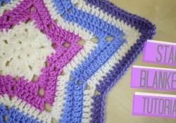 Star Shaped Crochet Blanket Pattern Crochet Star Blanket Bella Coco Youtube