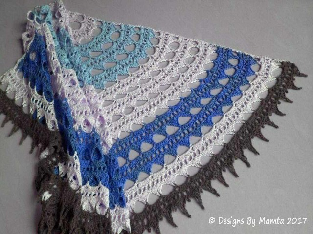 Unusual Crochet Patterns Crochet Sahasrara Shawl Pattern Unusual Crochet Patterns For Women