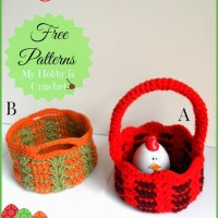 Crochet Baskets by My Hobby is Crochet