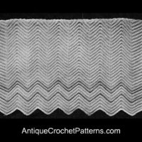 Vintage Afghan by Antique Crochet Patterns