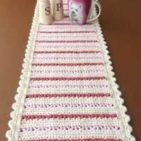 Dining Table Runner by Patterns For Crochet