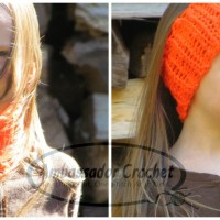 Kid's Neck Cozy & Headband by Ambassador Crochet