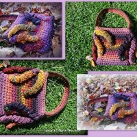 Medusa's Hand Bag by Jennifer Gregory of Niftynnifer's Crochet & Crafts