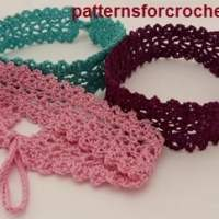 Choker Necklace by Patterns For Crochet