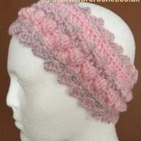 Bobble Headband by Patterns For Crochet