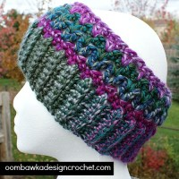 Joyful and Bright Winter Earwarmer ~ Oombawka Design