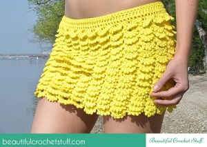 Layered Crochet Skirt ~ Beautiful Crochet Stuff