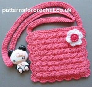 Girl S Purse Free Crochet Pattern