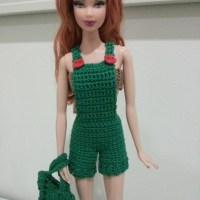 Barbie Basic Overalls ~ Dezalyx