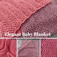 Elegant Baby Blanket ~ Meladora's Creations