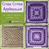 Criss Cross Apple Sauce by Stitches 'N' Scraps