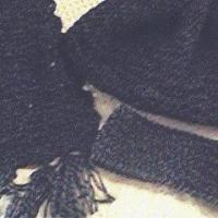 Winter Scarf Headband and Hat Set by Kim Guzman of CrochetKim