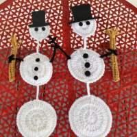 AJ's Hanging Snowman by Aurora Suominen/DragonFlyMomof2 Designs