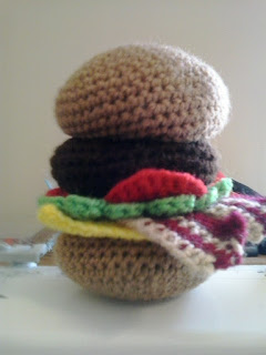 Hamburger by Crochet Fanatic