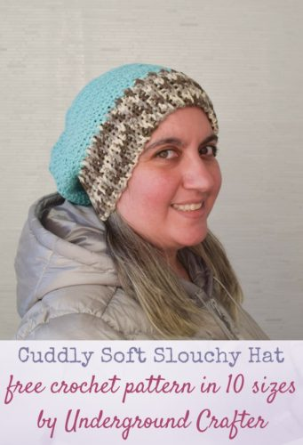 Cuddly Soft Slouchy Hat by Marie Segares/Underground Crafter