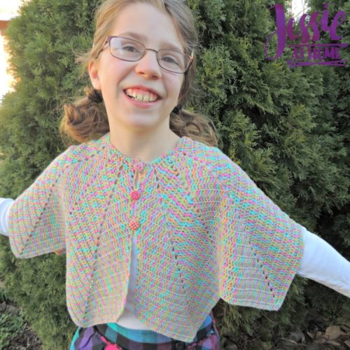 Rainbow Hero Cape by Jessie At Home