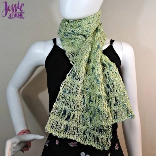 Unchained Scarf by Jessie at Home