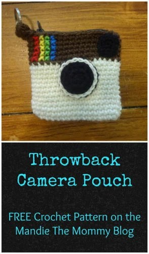 Throwback Camera Pouch by Amanda Slate from Mandie The Mommy
